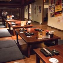 日本街店:12~16名テーブル(喫煙)