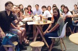 日タイ言語交換をする語学交流会