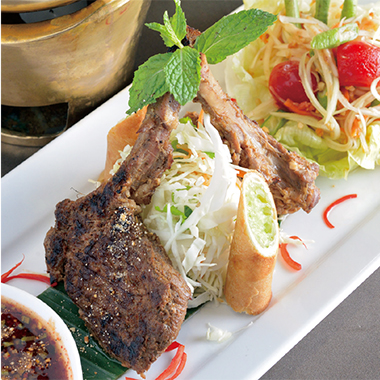 接待や記念日に洗練と格式のタイ料理 -Patara Fine Thai Cuisine-