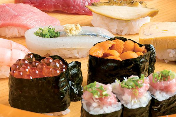 熟練の日本人寿司職人が握る江戸前寿司 -呑-