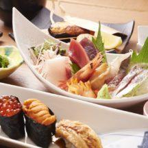 絶品の寿司と刺身は接待でも喜ばれること必須