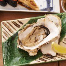 ぷりっぷり大粒の牡蠣