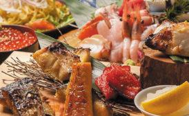 農家と漁師の台所 北海道原始焼き シーロム店