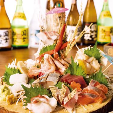北海道産直の新鮮な魚介を贅沢に! 豪快に!-原始焼き2号店-