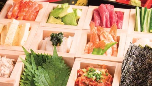 休日は家族とほっこり 手巻き寿司パーティー-わら焼き・釜飯 ほっこり-