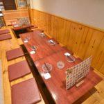 3階は2名様から利用可能な完全個室(掘りごたつ席)