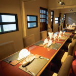接待からパーティまで幅広く使える大小の完全個室を完備