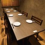 スリウォン店:6~8名のテーブル個室あり