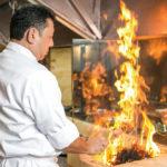 日本人料理長が一品一品丁寧に作る