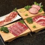 贅沢食べ飲みコース 豪州産和牛付き(ステーキ、カルビ他2種)