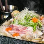 貝と黒豚のハリハリ鍋