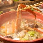 ずわい蟹すき鍋