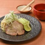 ピリ辛が美味い廣島つけめん(200B)。辛さは3段階から選べる