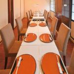 落ち着いた雰囲気の テーブル個室は全9部屋