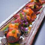 肉寿司(2900B)イクラ、黒トリュフ、雲丹と美味が演舞する肉寿司