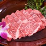 上ロース(880B)極上の旨みを湛えた肉であることが一目瞭