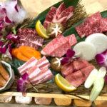 お肉の専門家が厳選した美味しいお肉をいろいろ楽しめる焼肉セット「紅」(390B/1人)※写真は2-3人前です