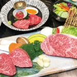 前菜や焼肉、ステーキなど知多牛を味わえるコースも充実